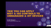 Yes! You can apply NIST & ISO controls to unmanaged and IoT devices