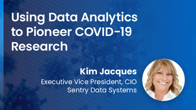 Using Data Analytics to Pioneer COVID-19 Research