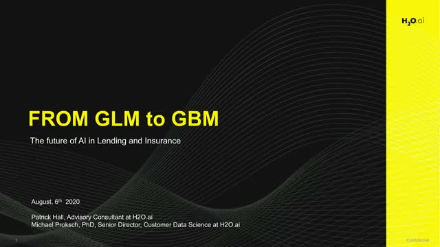 From GLM to GBM: The Future of AI in Lending and Insurance