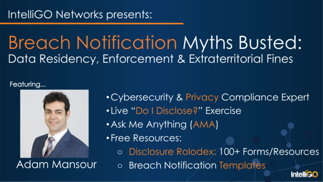 Breach Notification Myths Busted: Data Residency, Enforcement & Fines