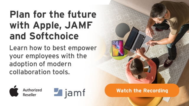 Plan for the future with Apple, Jamf and Softchoice