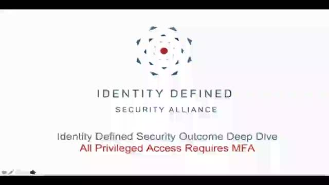 Security Outcome Deep Dive Series: Protecting Privileged Accounts with MFA