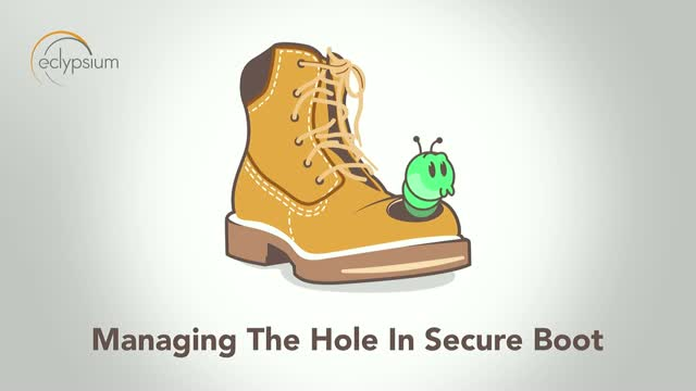 Managing the Hole in Secure Boot - Security Briefing