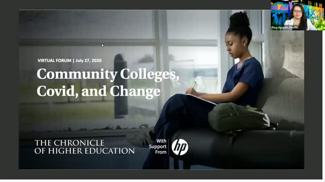 Community Colleges, Covid, and Change