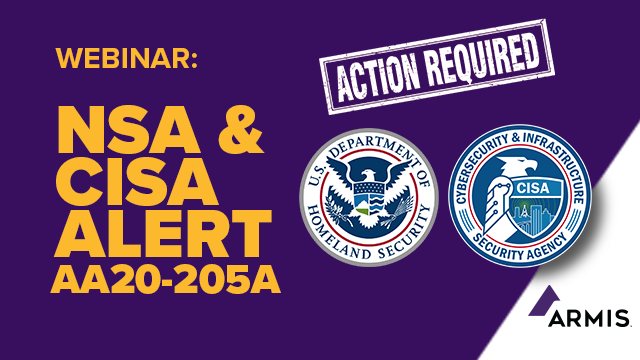 NSA & CISA Alert AA20-205A, How To Meet Recommended Actions For OT Systems
