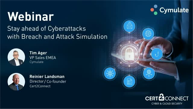 Cert2Connect - Stay ahead of Cyberattacks with Breach & Attack Simulation
