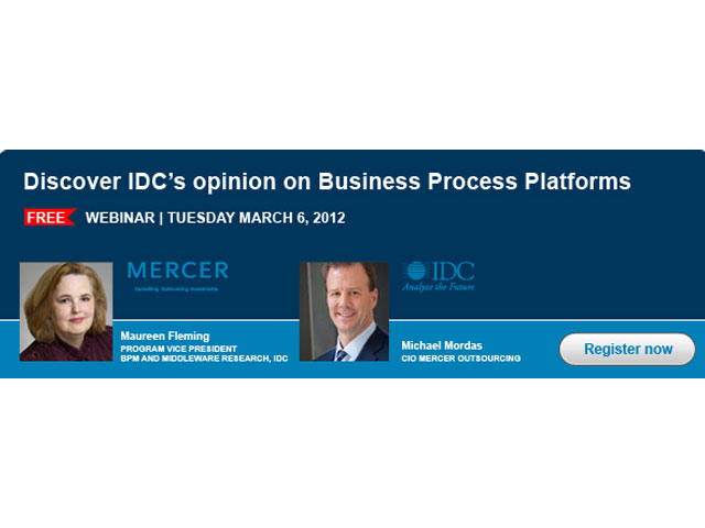 Discover why business process platforms are racing to the top of the IT agenda