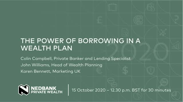The Power of Borrowing in a Wealth Plan