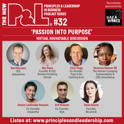 The New P&L 'Passion into Purpose' Roundtable Panel Discussion