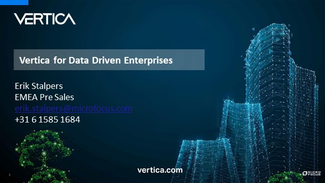 Top reasons why becoming a Vertica partner