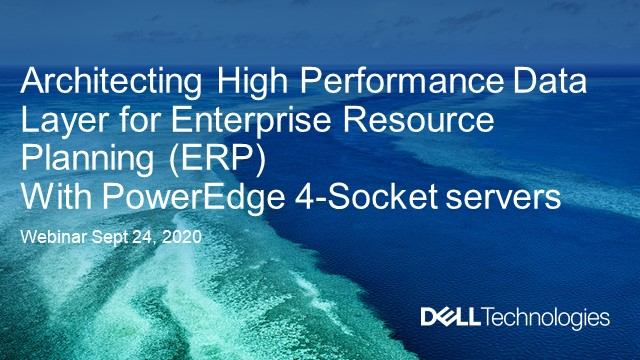 Architecting high performance data layer for modern ERP systems