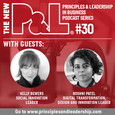 The New P&L speaks to social innovation leaders, Roshni Patel & Kelly Bewers