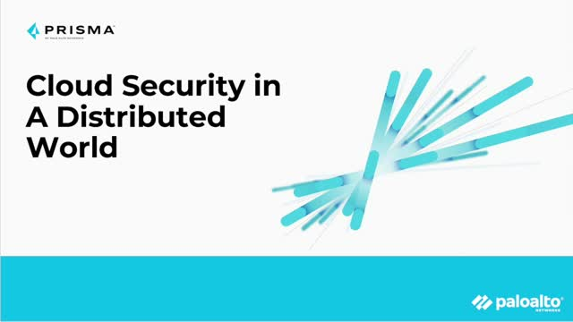 Cloud Security in a Distributed World