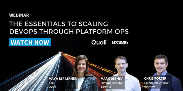 The Essentials to Scaling DevOps Through Platform Ops