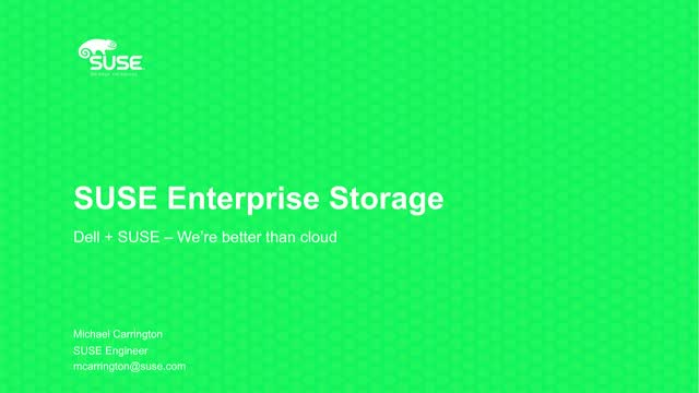 CEPH Storage: Terabytes to Petabytes at Better than Cloud Pricing