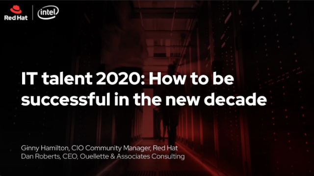 IT talent 2020 - How to be successful in the new decade