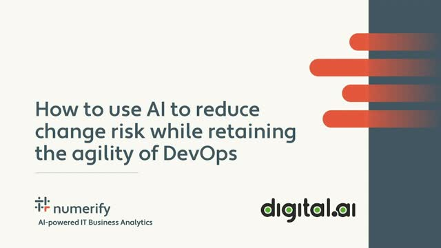 How to use AI to reduce change risk while retaining the agility of DevOps