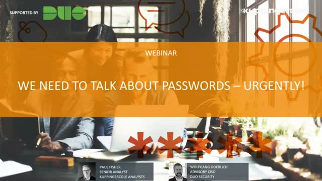 We Need to Talk About Passwords – Urgently!