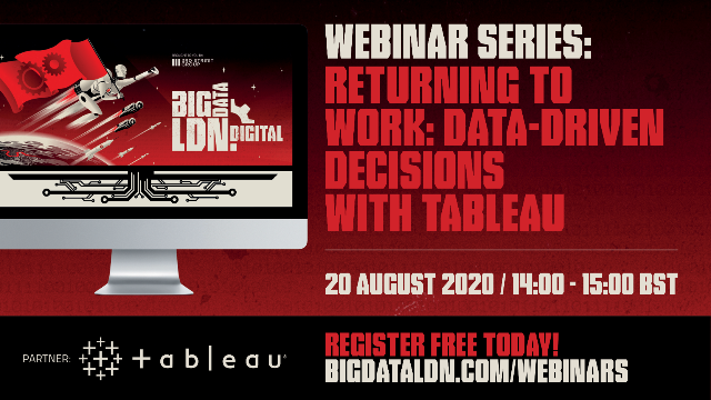 Returning to Work: Data-driven decisions with Tableau