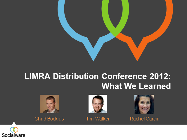 LIMRA Distribution Conference 2012: What We Learned