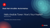 Ansible Automates: Hello Ansible Tower - How's Your Health?
