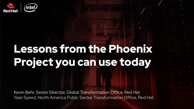 Lessons from the Phoenix Project you can use now