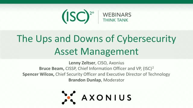 The Ups and Downs of Cybersecurity Asset Management