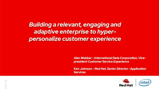 Hyperpersonalize customer experiences using AI and real-time data