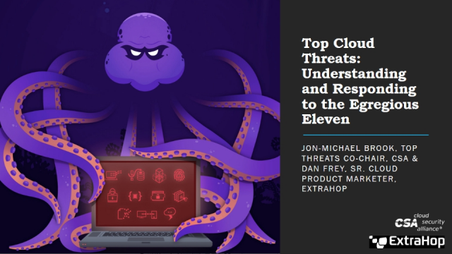 Top Cloud Threats: Understanding and Responding to the Egregious Eleven