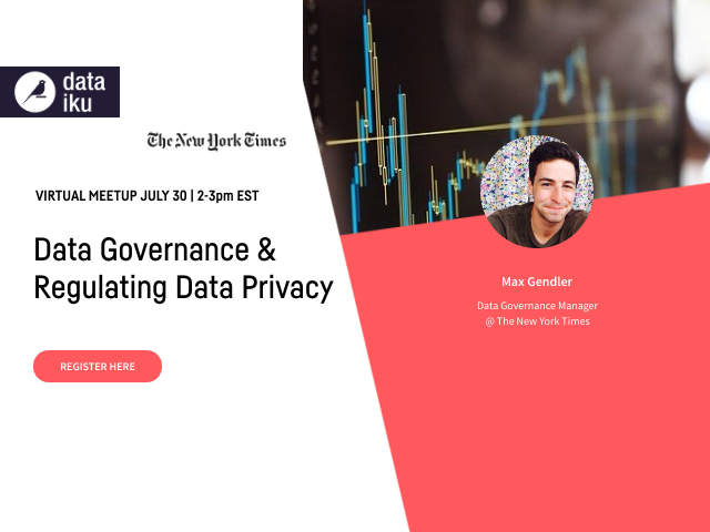 Data Governance & Regulating Data Privacy w/ NYT