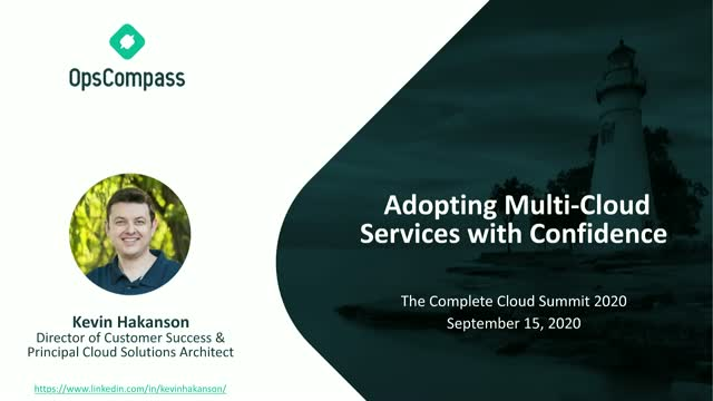 Adopting Multi-Cloud Services with Confidence
