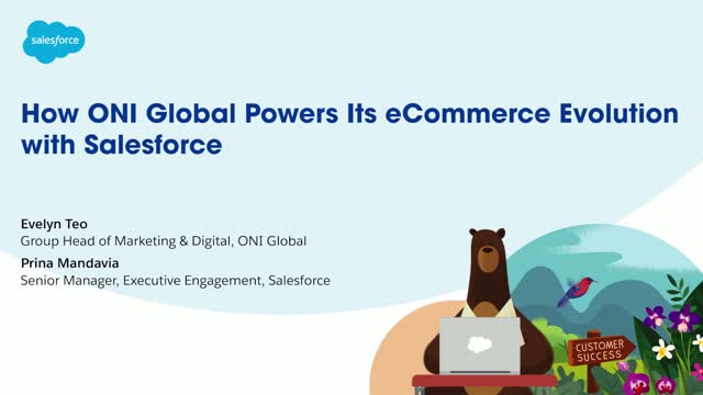 How ONI Global Powers its eCommerce Evolution with Salesforce