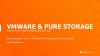 VMware & Pure Storage: Built for the {Private/Public/Hybrid/Multi} Cloud