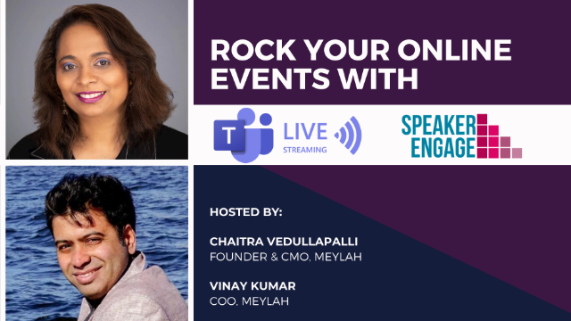 How to Rock Your Online Events & Webinars with Teams Live and Speaker Engage