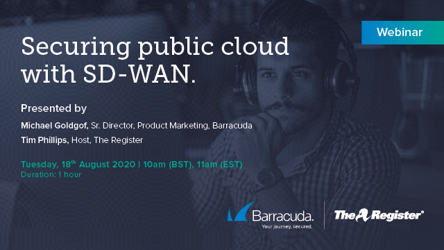 Securing public cloud with SD-WAN