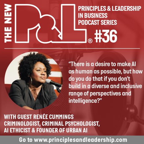 The New P&L speaks to Criminologist & Founder of Urban AI, Renée Cummings