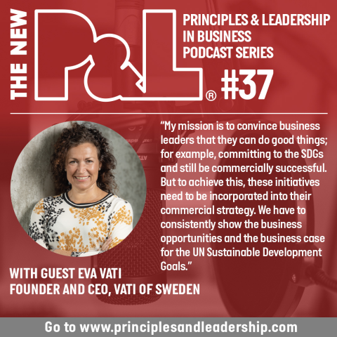 The New P&L speaks to founder & CEO of VATI Sweden, Eva Vati