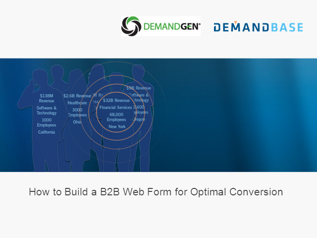 How to Build a B2B Web Form for Optimal Conversion
