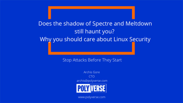 Does the shadow of Meltdown still haunt you? - Linux Security