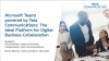 Microsoft Teams powered by Tata Communications: Ideal Collaboration Platform