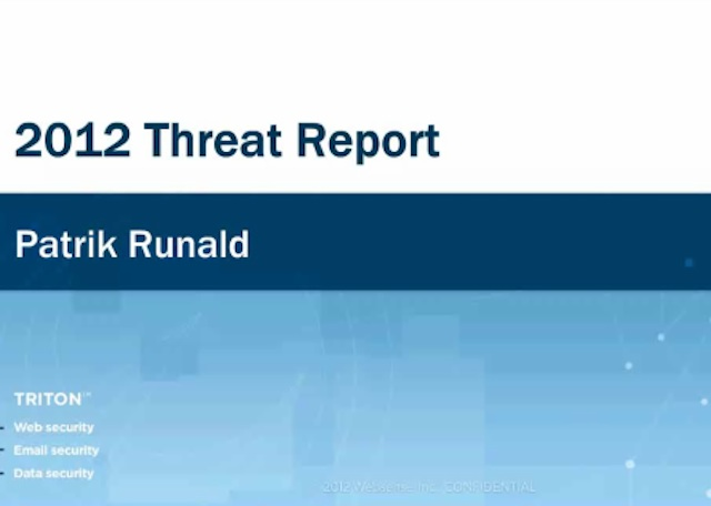 2012 Threat Update