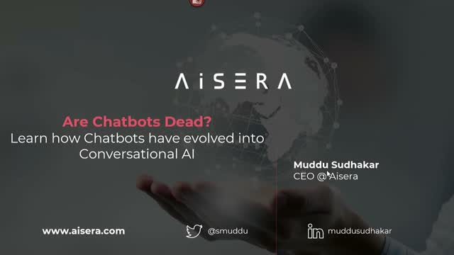 Are Chatbots Dead? Learn how Chatbots have evolved into Conversational AI