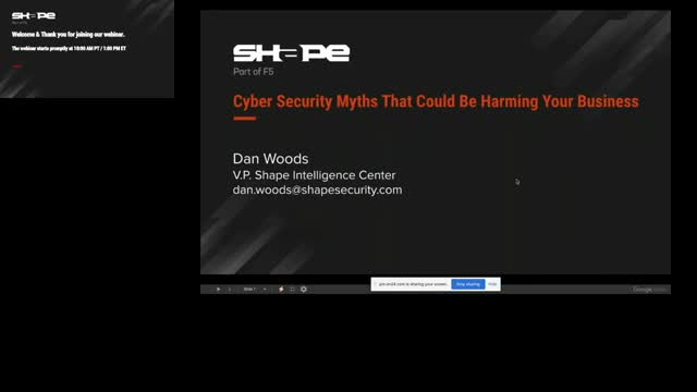 Cybersecurity Myths That Are Harming Your Business