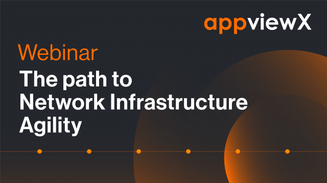 The Path to Network Infrastructure Agility