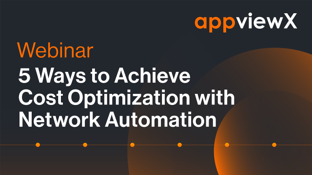 5 Ways to Achieve Cost Optimization with Network Automation