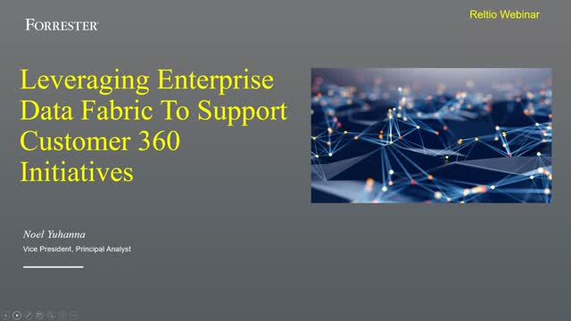Weaving an Enterprise Data Fabric that Covers Your Customer 360 Requirements