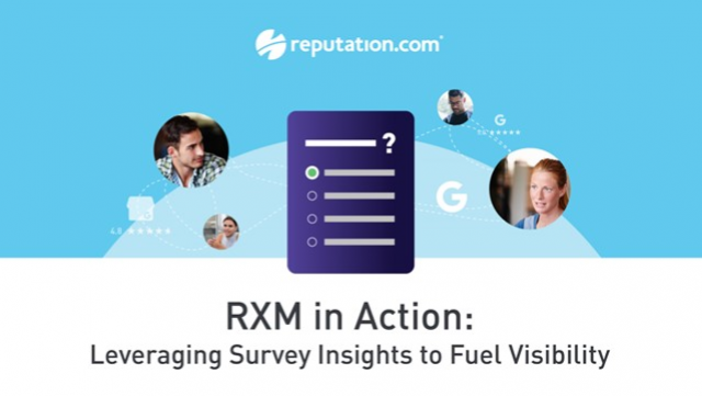 RXM in Action: Leveraging Survey Insights to Fuel Visibility