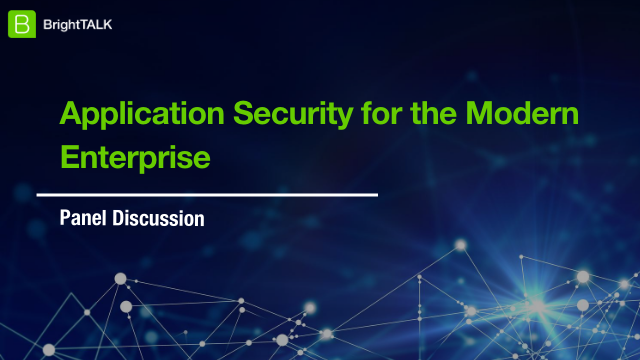 Application Security for the Modern Enterprise