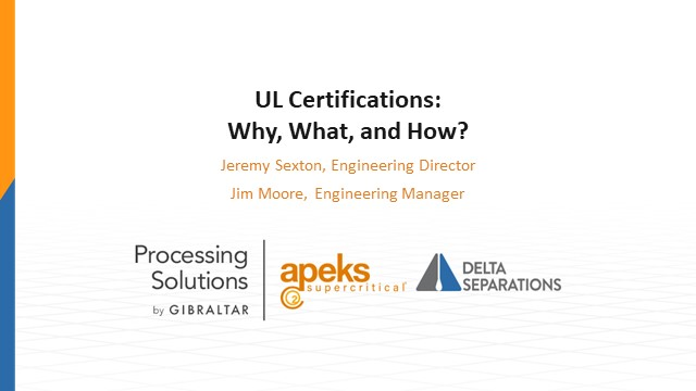 UL certifications: where, what, why, how