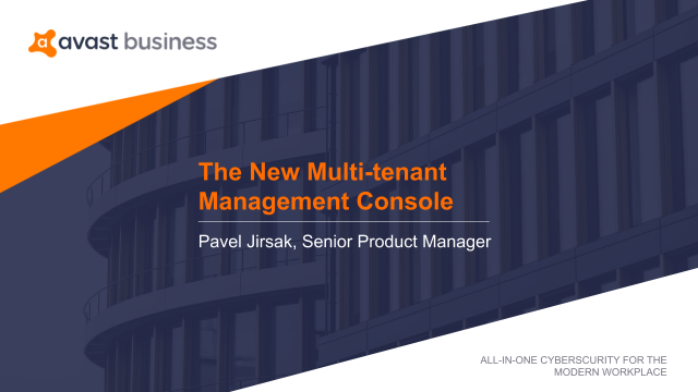The New Avast Business Multi-tenant Management Console for Partners
